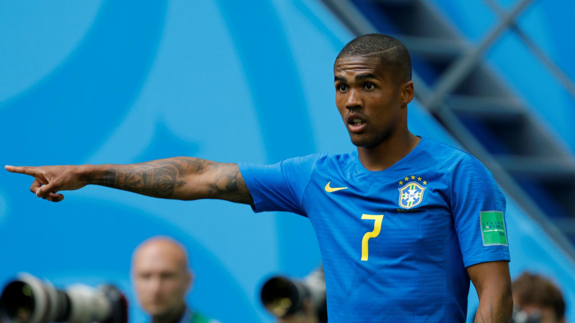 Douglas Costa and Danilo ruled out of Brazil's Serbia clash