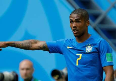 Costa & Danilo out for Brazil against Serbia