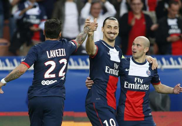 Paris Saint-Germain 4-0 Montpellier: Ibrahimovic on target as champions set new win record
