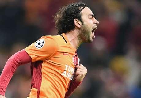 Galatasaray win ends in mayhem