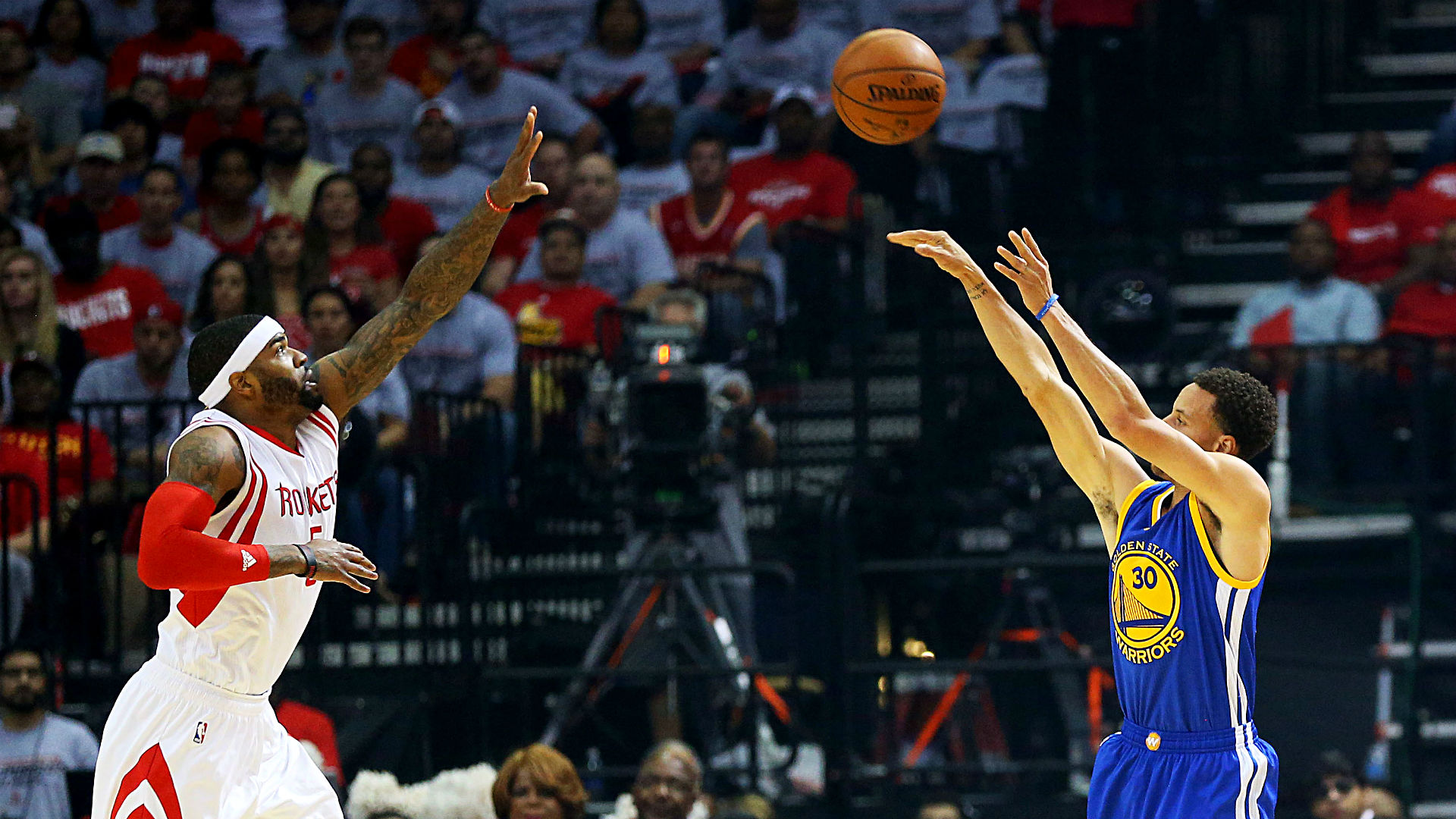 Stephen Curry's historic night highlights Warriors blowout win over Rockets