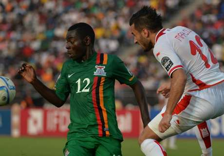 Player Ratings: Zambia 1-2 Tunisia