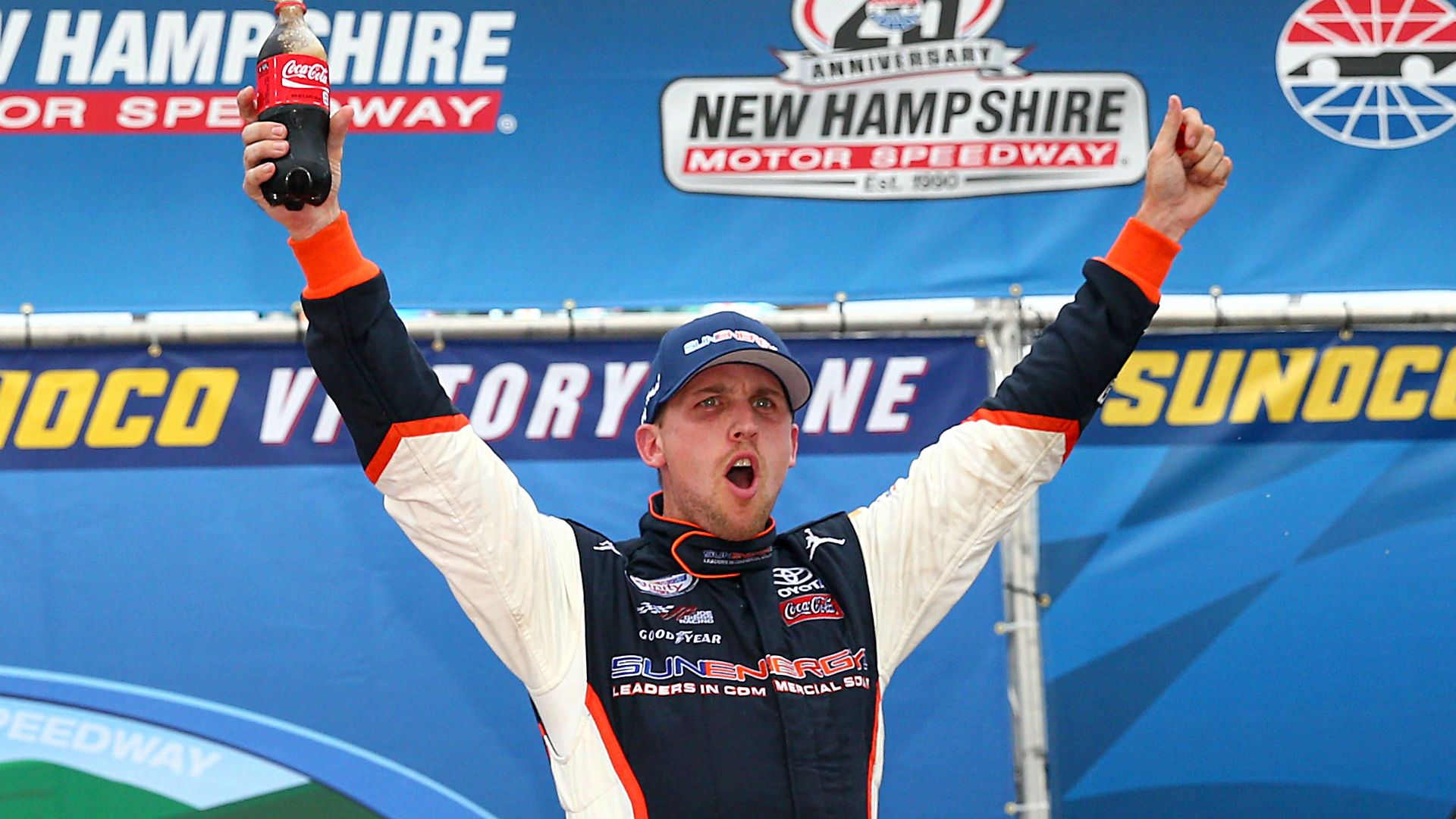Denny Hamlin wins at New Hampshire