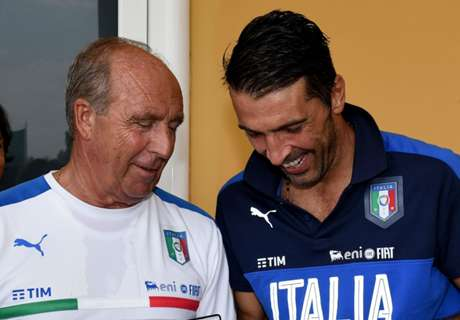 Ventura: Buffon welcome as Italy coach
