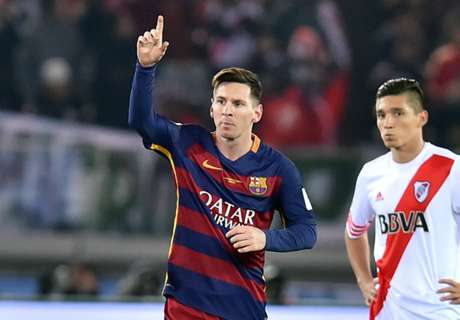 Messi defended by River president