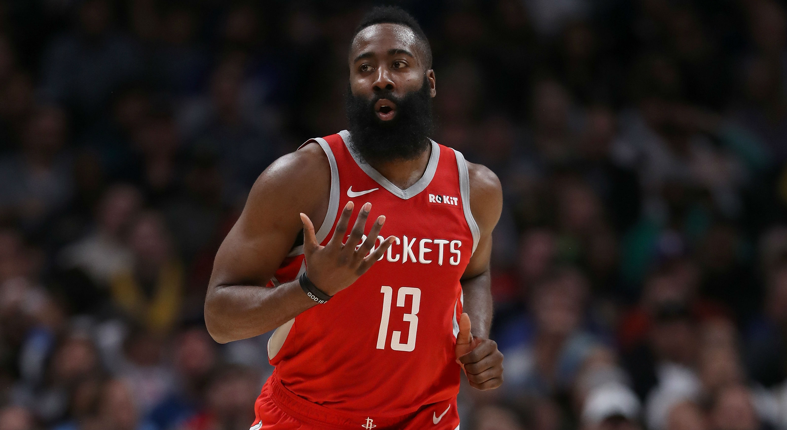 Harden drains game-winning 3-pointer in OT thriller against Warriors
