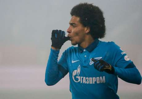 Witsel wants Zenit exit