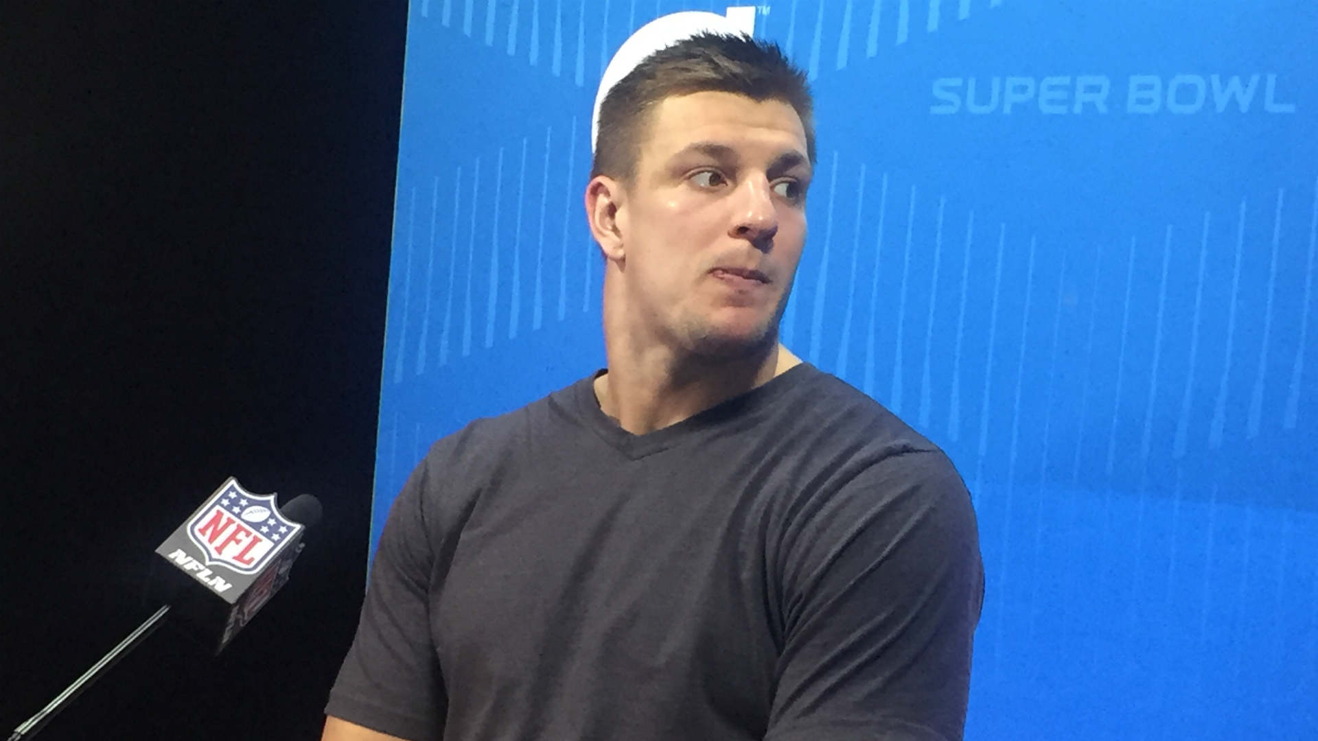 Rob Gronkowski not upset with Barry Church over hit