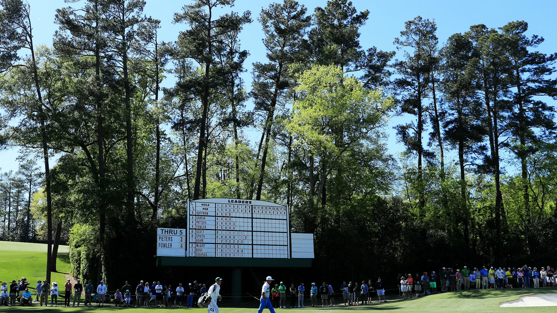 Amen Corner, Augusta National Golf Course, consists of holes 11 ...