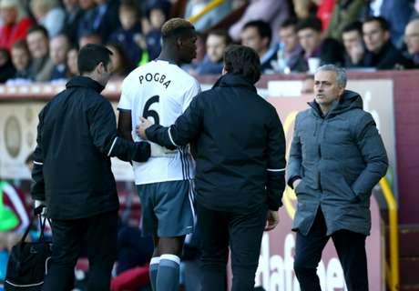 Mourinho unsure of Pogba fitness