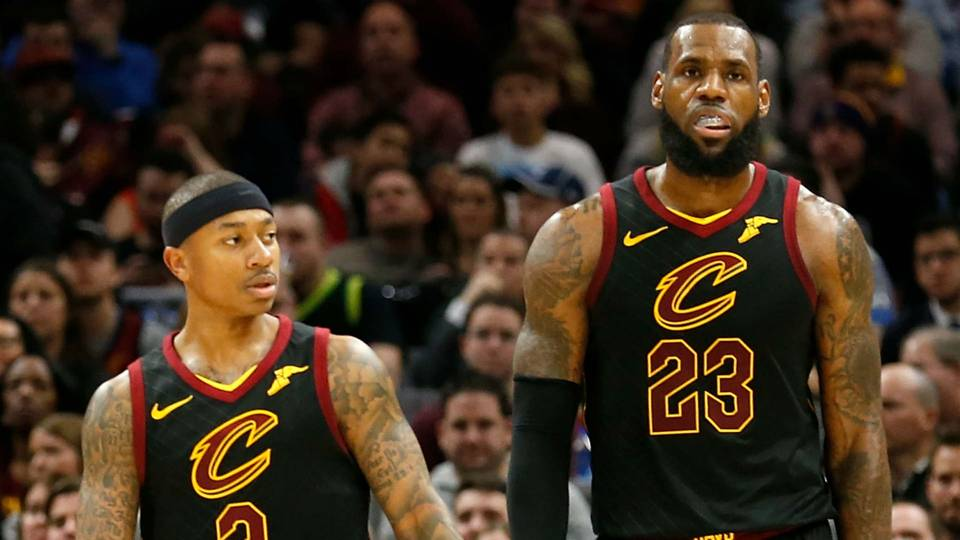 LeBron James is reportedly unhappy with how he and Isaiah Thomas are  playing together · NBA 6648e5b54