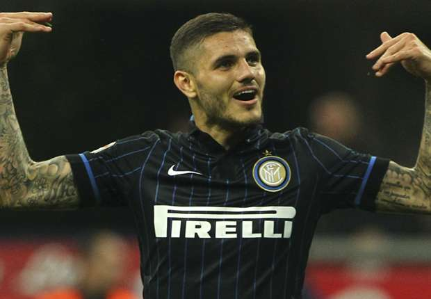 Inter striker Mauro Icardi