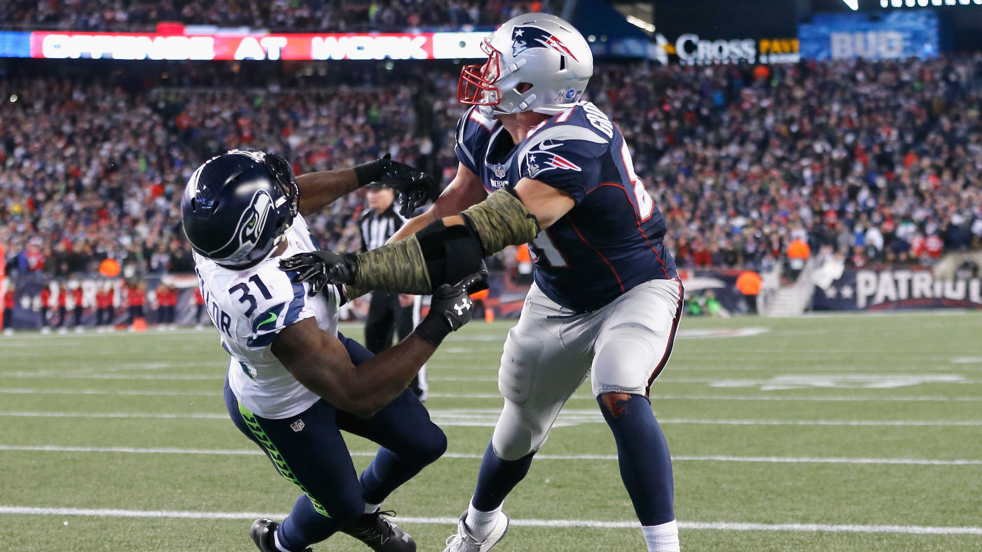 Rob Gronkowski has punctured lung