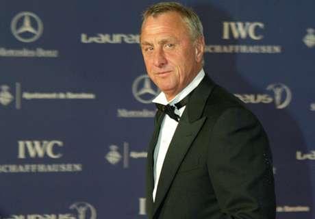Jordi Cruyff hails Johan legacy