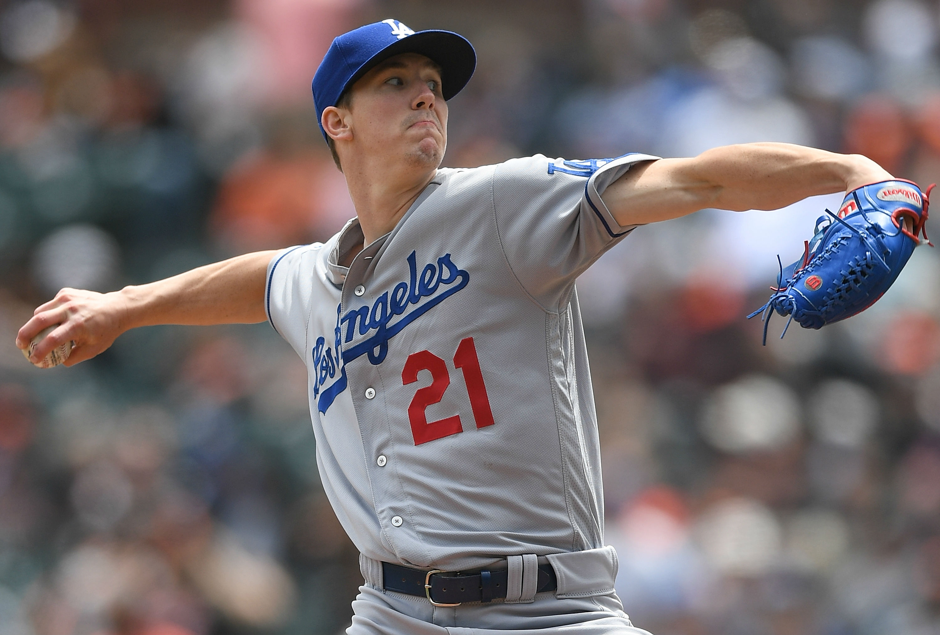 Dodgers use four pitchers to no-hit Padres in Monterrey