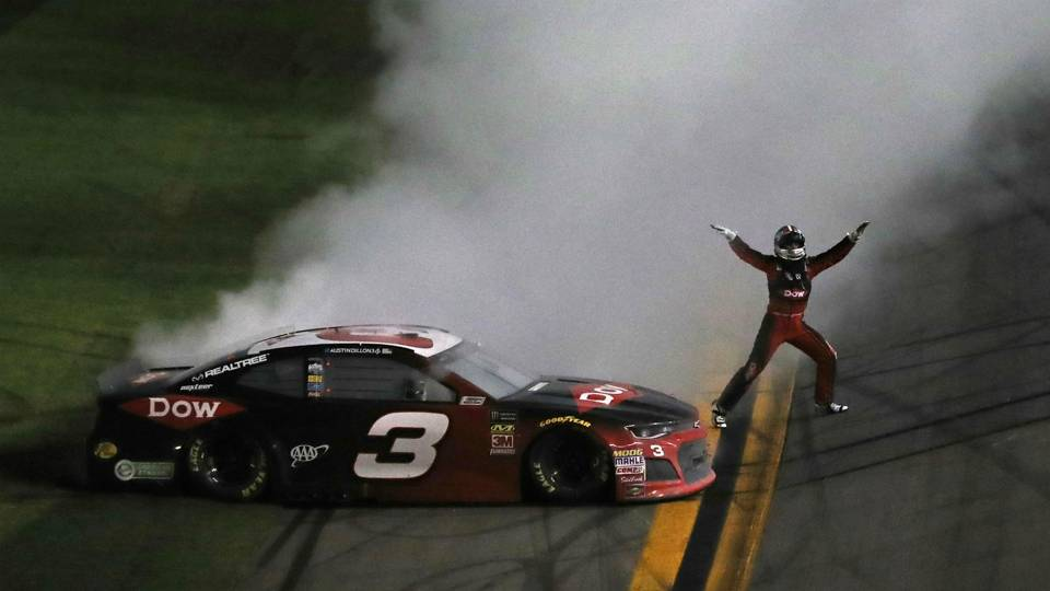 Austin Dillon wins Daytona 500