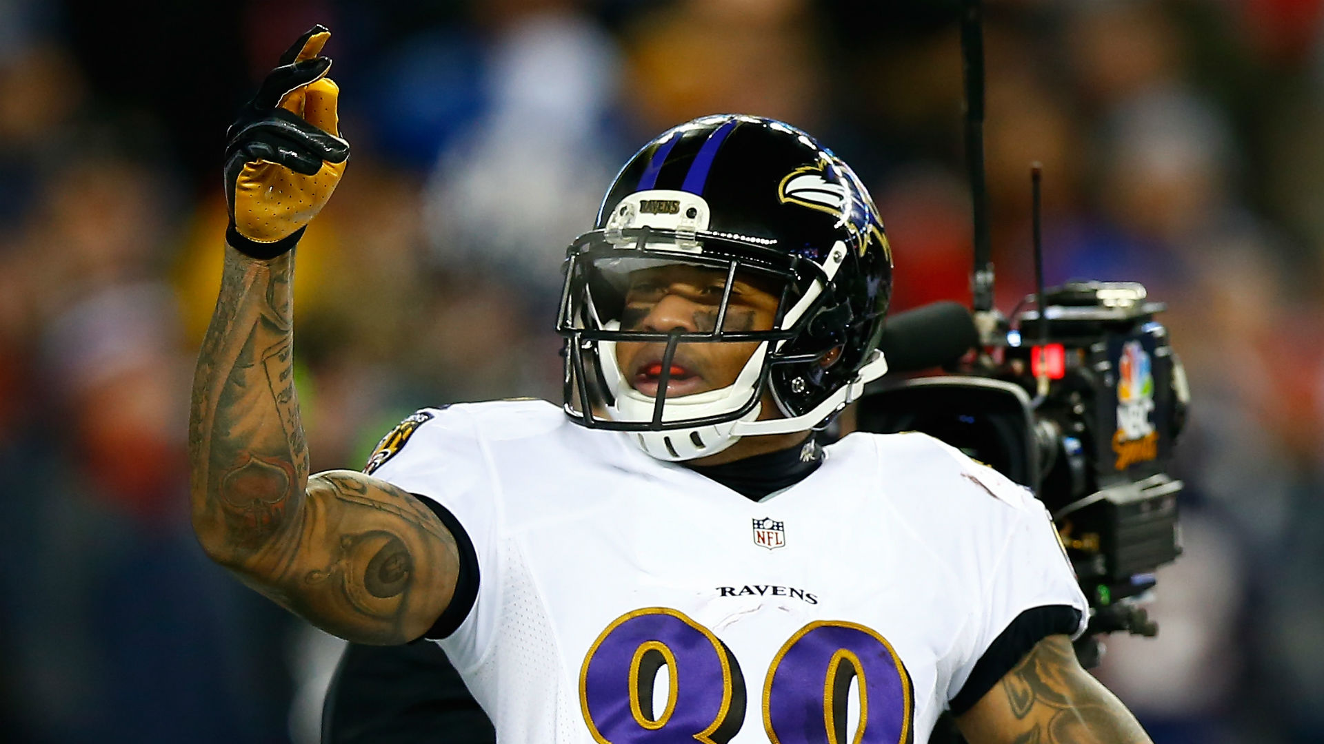 Ravens' Steve Smith: Football 'doesn't change with age'