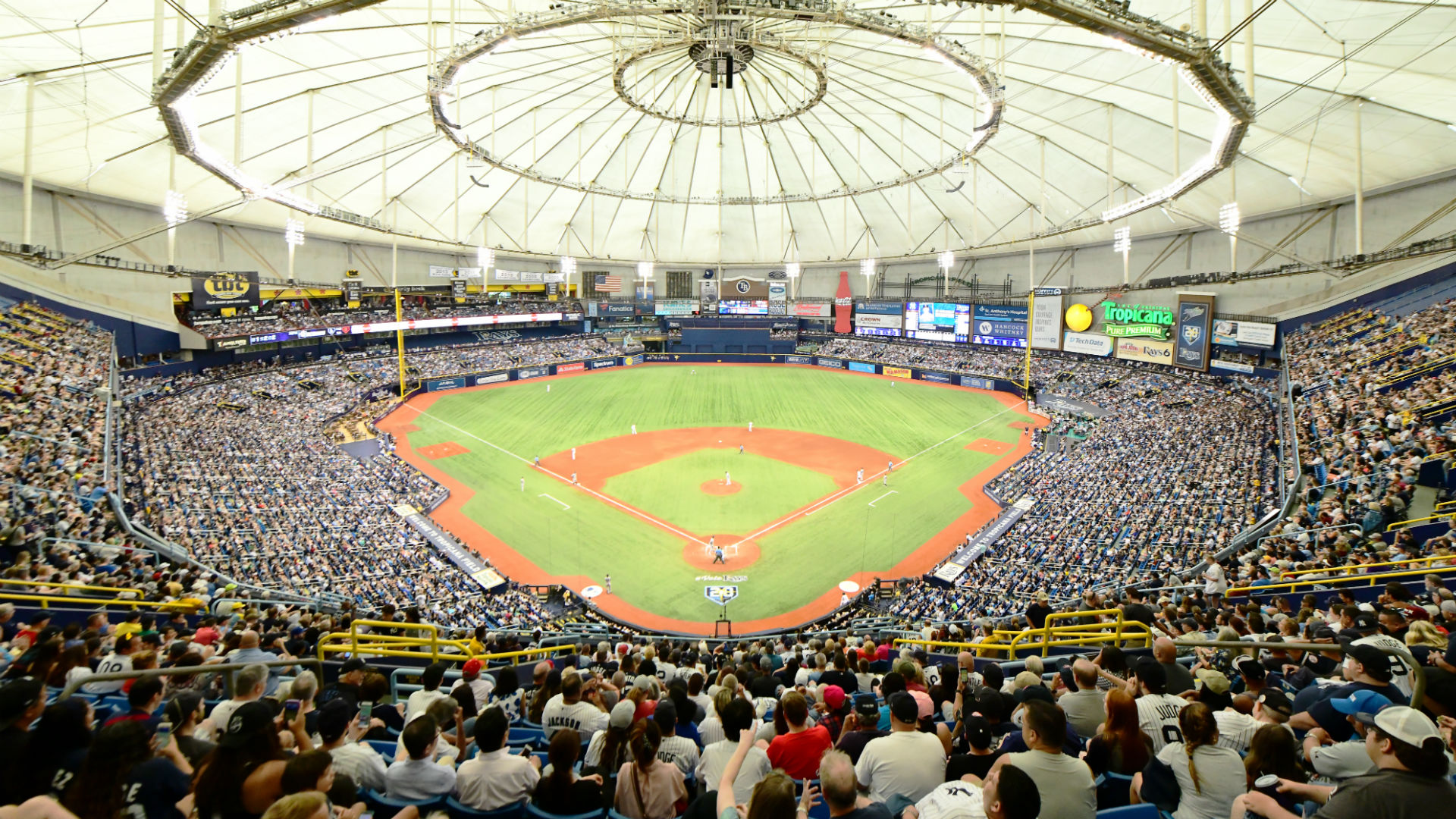 Rays Plan to Close Upper Deck Seating, Reduce Capacity to 26,000