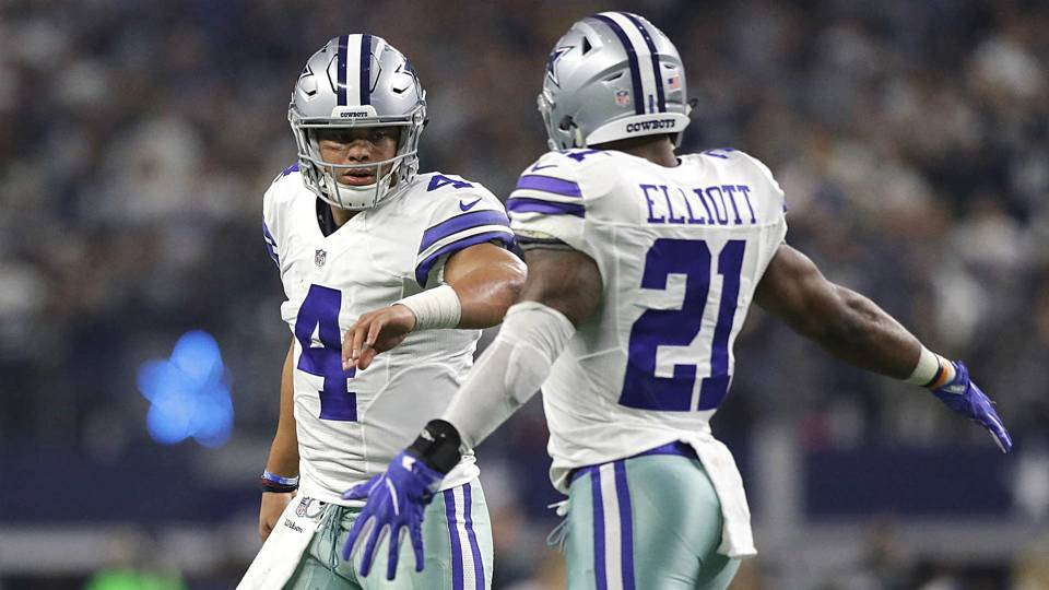 NFL Honors  Dak Prescott wins Offensive Rookie of the Year over Ezekiel  Elliott 831a52e45