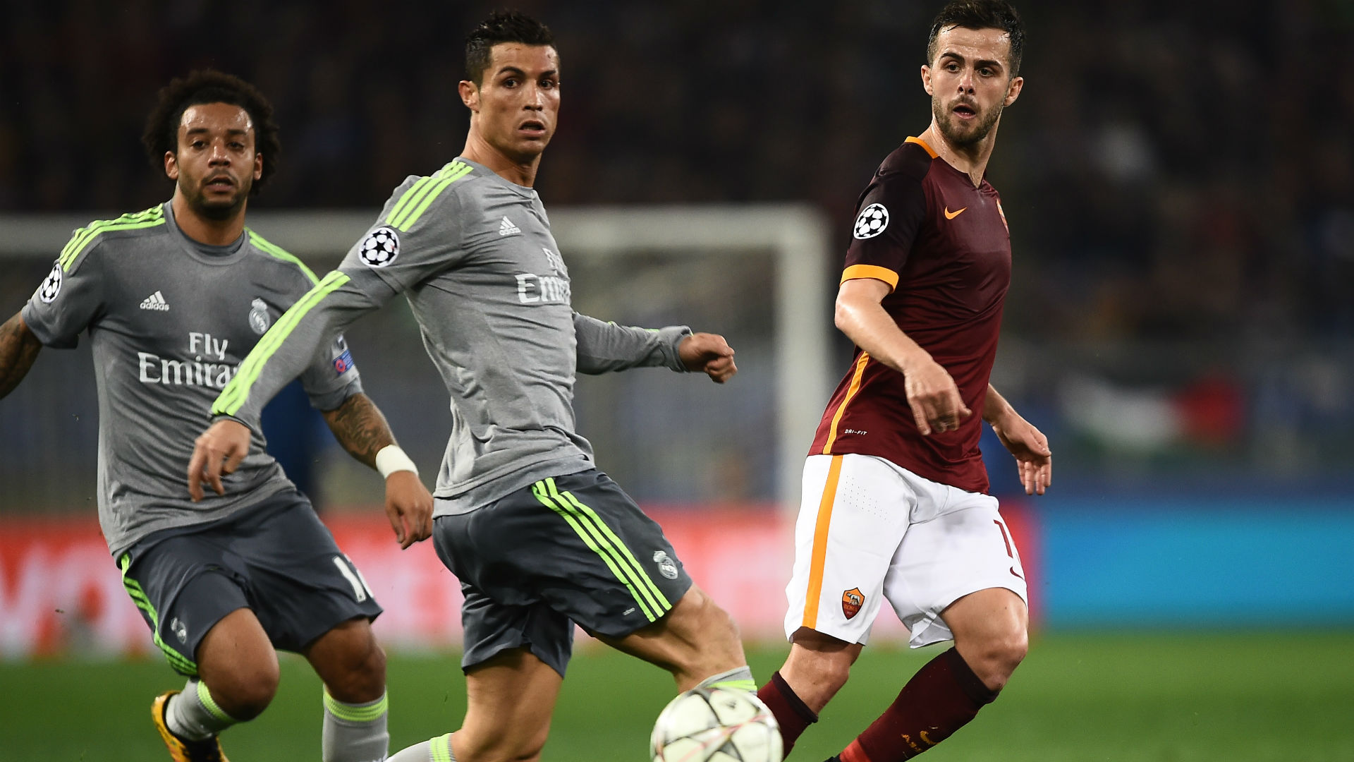 Video: Real Madrid vs AS Roma