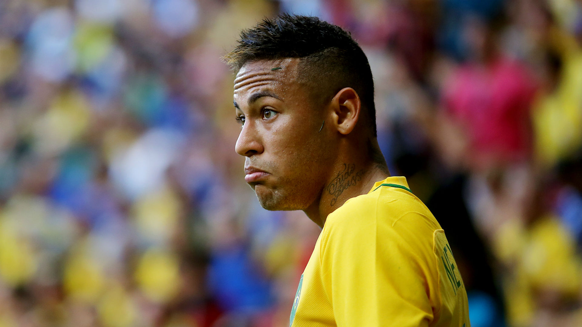 Neymar thwarted as 10-man South Africa holds Brazil
