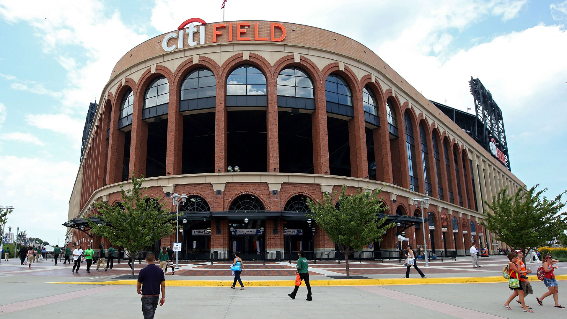 Fire Breaks Out At Citi Field Concession Stand