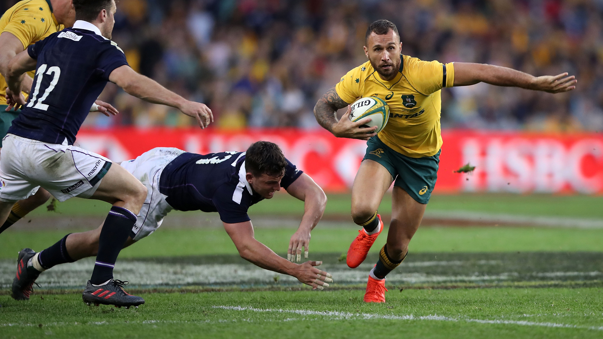 Cooper dropped from Wallabies