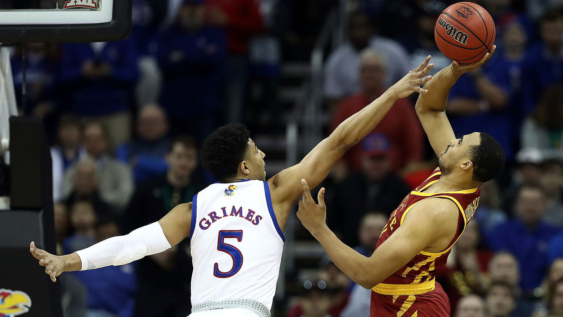 Iowa State topples Kansas to win Big 12 Tournament title