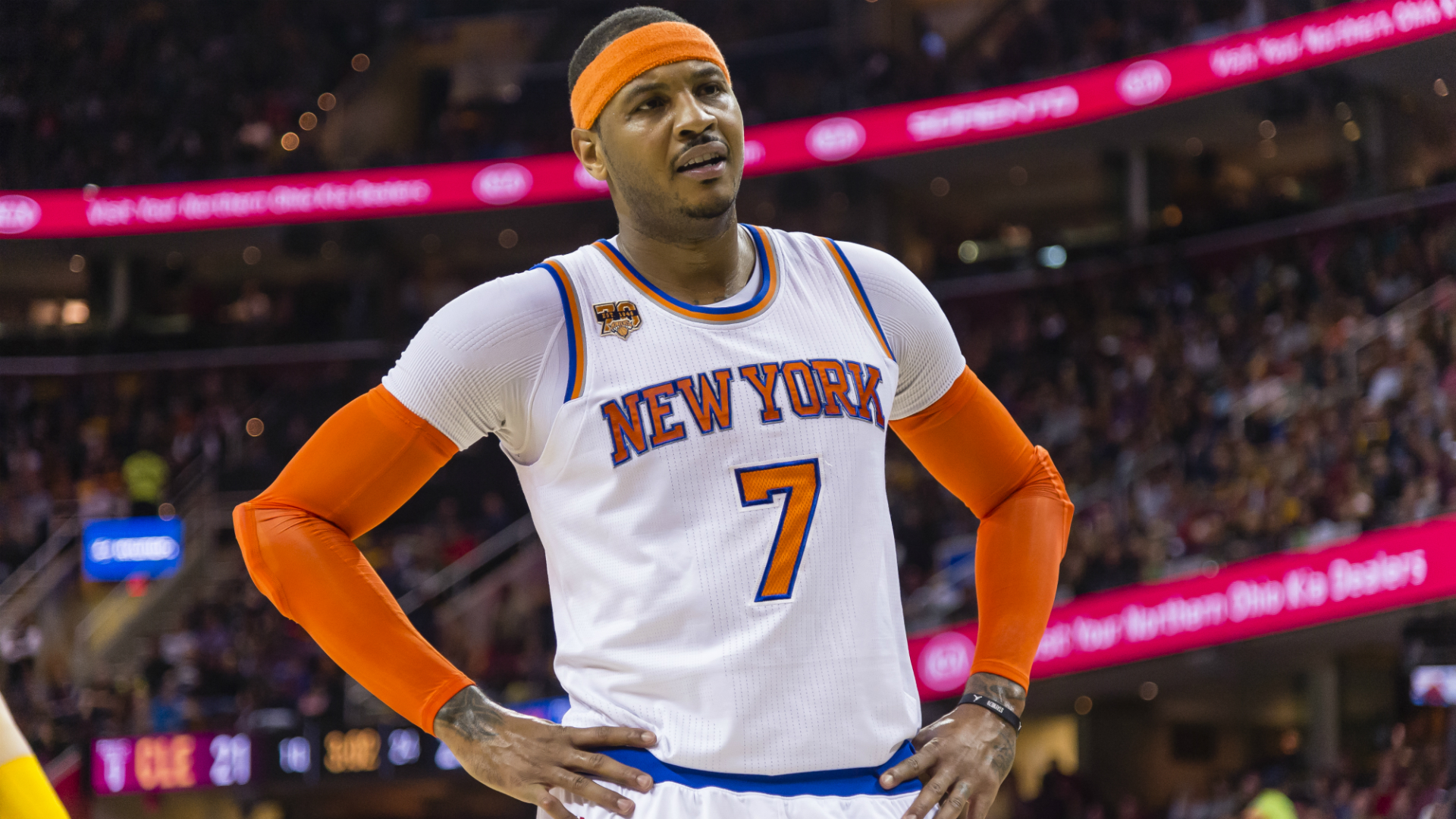Carmelo Anthony Sees 'Writing on the Wall' in NY
