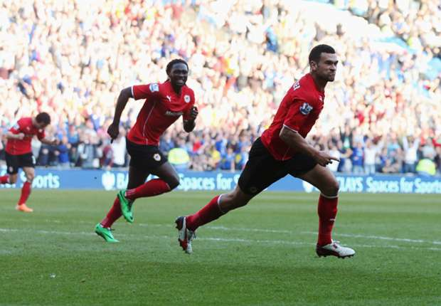 REVIEW Liga Primer Inggris: Steven Caulker Akhiri Krisis Cardiff City