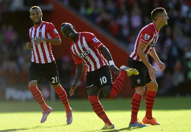 Crystal Palace 1-3 Southampton: Mane marks return with star performance