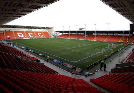 Blackpool friendly abandoned