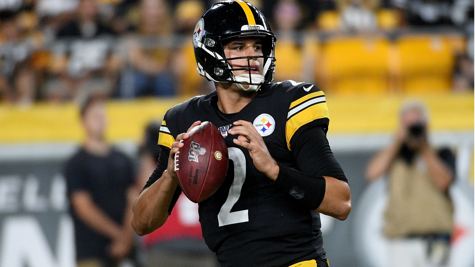 Steelers' JuJu Smith-Schuster on Mason Rudolph: He's 'going to help us win a lot of games moving forward'