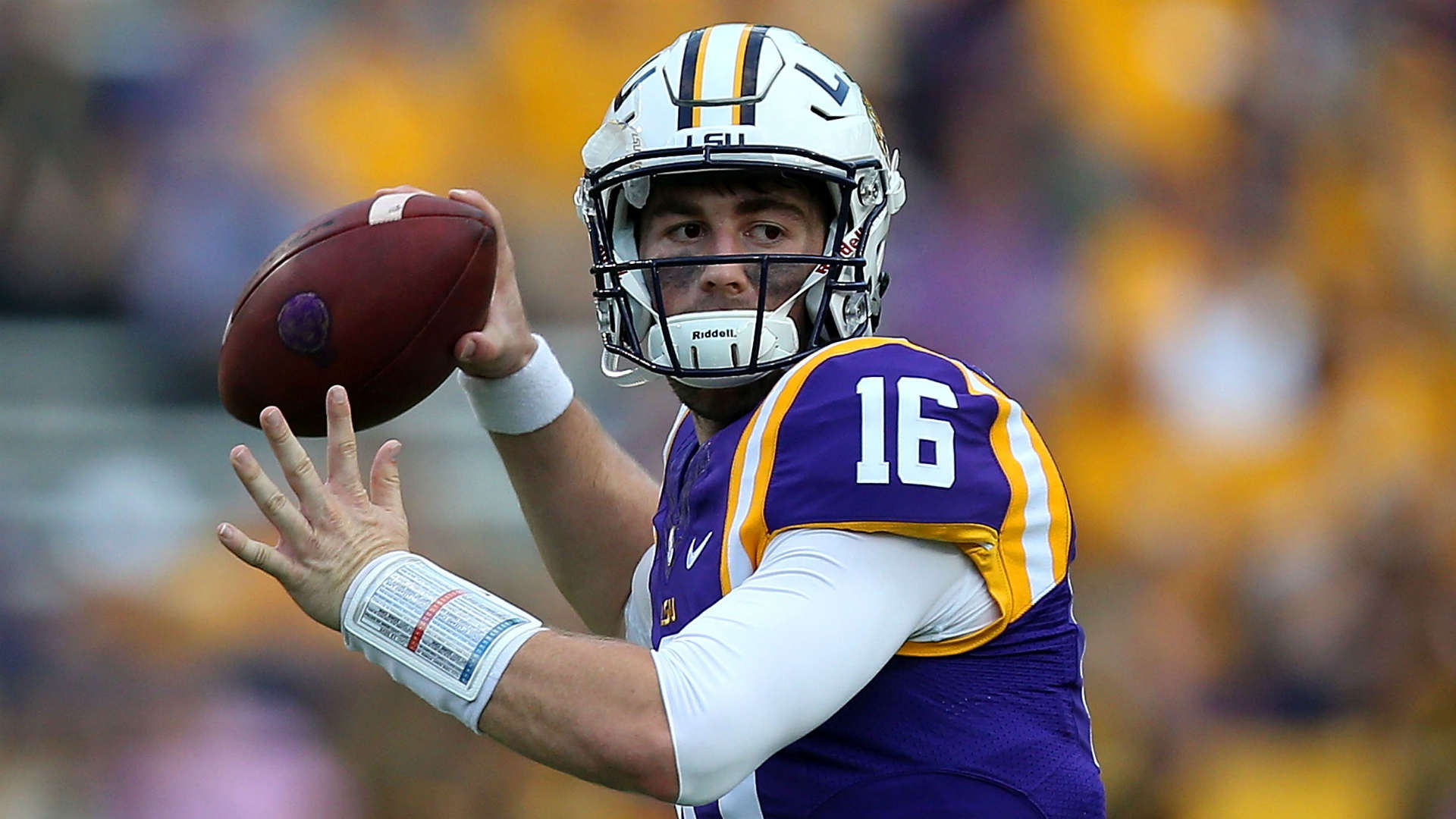 LSU QB Danny Etling returns from injury, but comeback ...