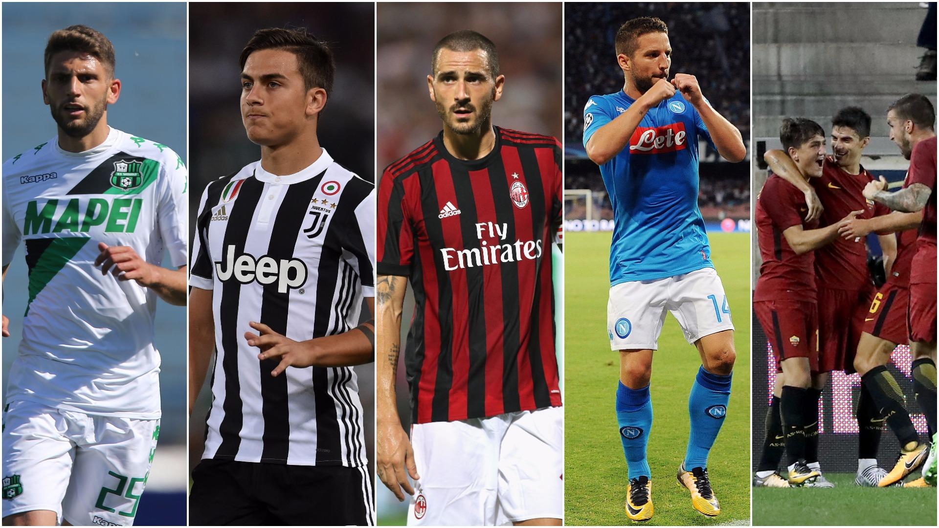 Serie A 2017 18 Shock Signing Bonucci Juve Star Dybala