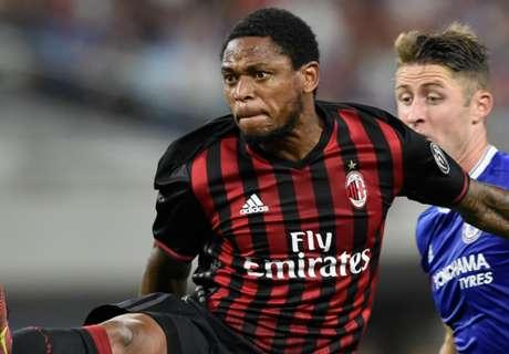 Luiz Adriano brace in Milan win