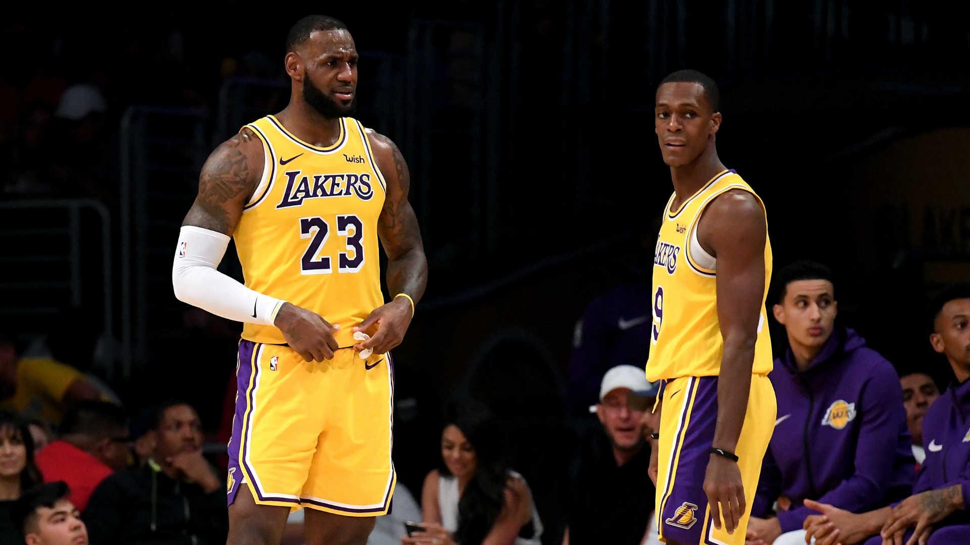 Lakers injury updates: Rajon Rondo expected back Thursday, LeBron James continues rehab