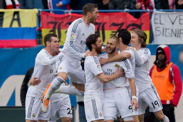 LIVE! + Opstellingen: Real Madrid - Levante
