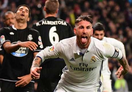 Zidane salutes Ramos belief