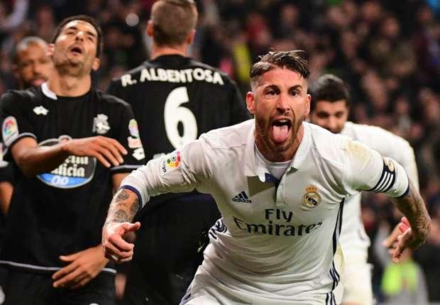Zidane champions 'undying belief' of Real Madrid saviour Ramos