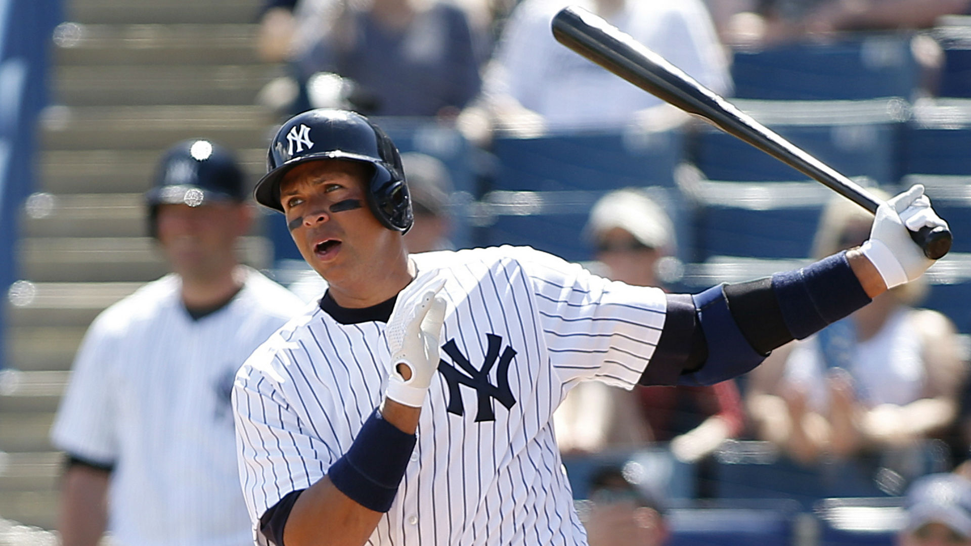Alex Rodriguez in spring training debut