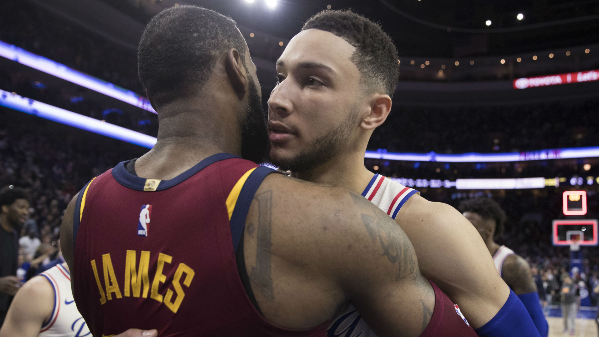 Ben Simmons disappointed he won't share court with LeBron James in Philadelphia