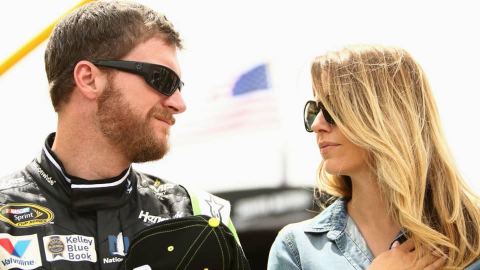 Dale Earnhardt Jr. and Amy Reimann