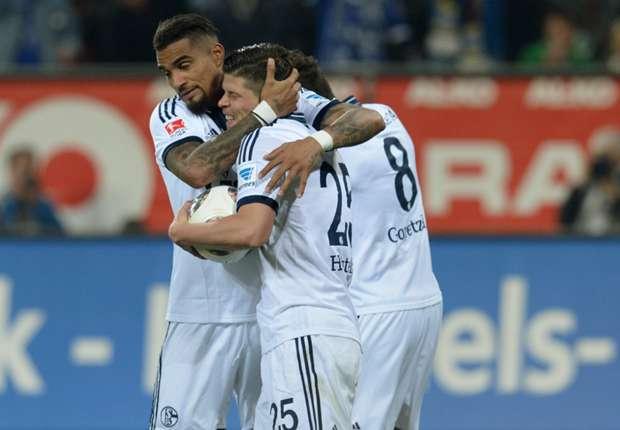 Schalke auf dem Weg in die Champions League