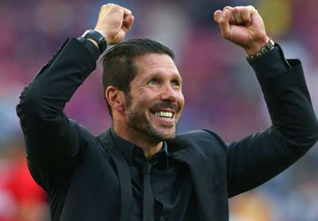 Simeone hails 'spectacular' Atletico fans