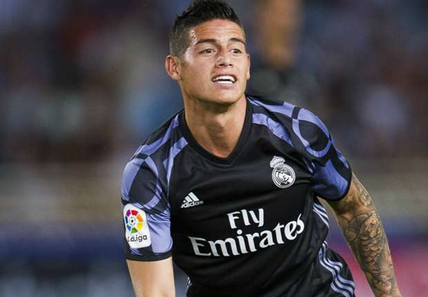 Zidane should give James more respect - Asprilla