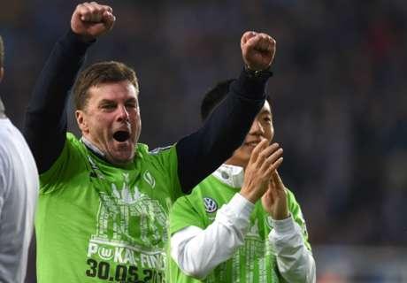 Hecking applauds Wolfsburg