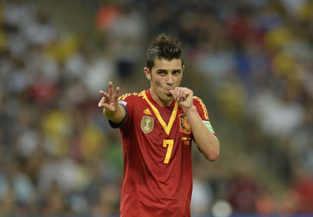 David Villa Spain 2014 David Villa to End Spain