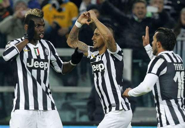Brachte Juventus Turin mal wieder in Führung: Arturo Vidal