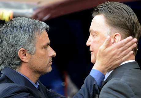 Van Gaal: I haven't spoken to Mou